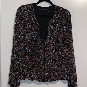ZARA Sequin jacket
